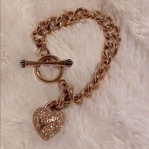 Juicy Heart Rose Gold Bracelet